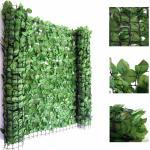 Mendler Reticolato per privacy decorativo T811 giardino balcone plastica poliestere 300x100cm chiaro