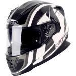 Nitro NRS-1 Pursuit, casco integrale XXL male Bianco/Nero/Grigio