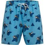 OAKLEY Pantaloncini sportivi da bagno 'TOUCAN TROPICS' blu / blu cielo / arancione