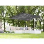 Ombrellone da giardino 250 x 250 x 235 cm antracite/bianco MONZA
