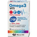 Omega3 VITI TRIPLA azione 60 perle soft gel