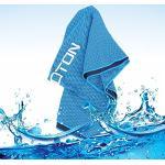 OMOTON Asciugamano rinfrescante High-Tech, per Palestra e attività all'Aperto, Sollievo istantaneo dal Caldo, Morbido, Assorbente e Traspirante