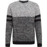 Only & Sons Pullover 'ROCCO' nero sfumato / grigio sfumato