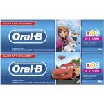 Oral-B Kids Dentifricio Frozen & Cars per Bambini 0-5 Anni, 75ml