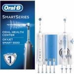 Oral Center OC601 Smart 5000 Spazzolino + OxyJet Idropulsore + Testine Ricambio