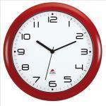 Orologio da parete Hornew - diametro 30 cm - rosso - Alba Quantita min. 1