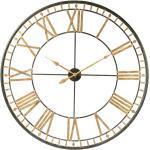 Orologio nero in metallo 120 cm