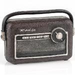 Pajoma 55164 Piggy Bank Radio, di Polyesin, 12 cm