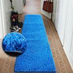 Passatoia Shaggy 5cm Blu