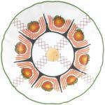 Piatto Bel Paese - Arancia - / Ø 20,5 cm di Bitossi Home - Multicolore - Ceramica