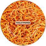 Piatto Toiletpaper - Spaghetti - / Porcellana di Seletti - Multicolore - Ceramica