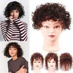 Extension nere naturali per capelli ricci per Donna