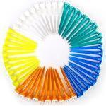 Pixnor Tee da golf 50pcs colore misto 70mm plastica corona Golf Tees