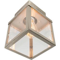 Plafoniera da esterno moderna in acciaio a 1 luce - ROTTERDAM