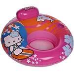Poltrona Gonfiabile Ciambella Hello Kitty per bambina Mare Piscina 11364