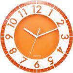 Postershop ZH09793B - Orologio da parete in plastica, 30 x 30 x 5 cm, colore: Arancione