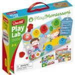 Quercetti 0622 Play Lab Play Montessori Ordina Associa E Avvita I Pezzi Nei Vari Paesaggi 3-5 Anni