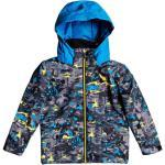 Quiksilver Little Mission Kids Jk Sulphur Pop Yeti Forest 20 - Giacca da sci - Multicolore [Taglia : 3 ans]