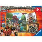 Ravensburger 050161 Puzzle 3x49 Gormiti Bene Contro Il Male .