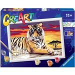ravensburger Creart Serie Tigre Giochi Creativi