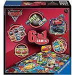 Ravensburger Disney Cars 6 In 1 Game 6 Giochi Dal Film 1-4 Anni