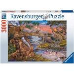ravensburger Il Regno Animale Puzzle 3000 Pezzi