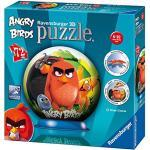 Ravensburger Italy- Angry Birds Puzzleball 3D, Multicolore, 12196