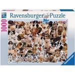 Ravensburger Italy Cuccioli del Mondo, Puzzle, 1000 Pezzi, Multicolore, 15633