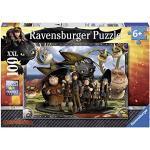 Ravensburger Italy- Dragons Puzzle 100 Pezzi, Multicolore, 10549