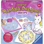 Ravensburger Italy- Mandala Designer Unicorno Gioco Creativo, Colore Giallo, 29703