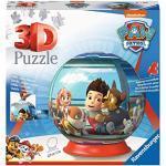 Ravensburger Italy- Paw Patrol Puzzle Ball 3D, 72 Pezzi, Multicolore, 12186