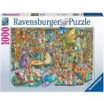 ravensburger Mezzanotte In Biblioteca Puzzle 1000 Pezzi