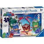 Ravensburger PJ Masks Puzzle 35 pezzi per bambini dai 3 anni in su, 05083