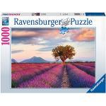Ravensburger Puzzle 1000 Pezzi, Campi di Lavanda, Collezione Paesaggi & Foto, Puzzle per Adulti, Puzzle Ravensburger - Stampa di Alta Qualità