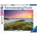 Ravensburger, Puzzle 1000 pezzi, Germany Collection, Puzzle per Adulti, Puzzle Germania, Foto e Paesaggi, Città, Fotografia, Puzzle Tramonto su Amrum