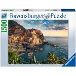 Ravensburger Puzzle 1500 pezzi, Dimensioni Puzzle: 80x60 cm, Collezione Arte, Puzzles da adulti, Dipinti, Quadri Famosi, Puzzle Art Collection, Museum, Vergine delle Rocce, Leonardo