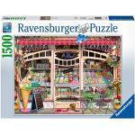 Ravensburger Puzzle 1500 pezzi, Gelateria, Shop, Illustrazione, Puzzles per Adulti, Dimensioni Puzzle: 80x60 cm, Relax, Stampa di alta qualità
