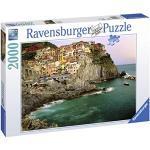 Ravensburger Puzzle 2000 Pezzi, Cinque terre, Italia, Collezione Foto e Paesaggi, Jigsaw Puzzle per Adulti, Puzzles Ravensburger - Stampa di Alta Qualità, Dimensione Puzzle: 98x75cm