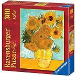 Ravensburger Puzzle 300 Pezzi, Van Gogh Vaso di Girasoli, Puzzle Van Gogh, Collezione Arte, Puzzle Arte per Adulti e Ragazzi, Stampa di Alta Qualità