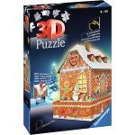 Ravensburger Puzzle 3D Casetta Pan di Zenzero