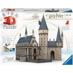 Ravensburger Puzzle 3D Harry Potter Castello di Hogwarts Sala Grande 540 Pezzi