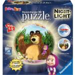 Ravensburger Puzzle 3D Lampada Notturna Masha e Orso