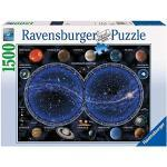 Ravensburger Puzzle Astrologia, Planisfero Celeste, Puzzle 1500 pezzi, Relax, Puzzles da Adulti, Dimensione: 80x60 cm, Stampa di alta qualità, Stelle