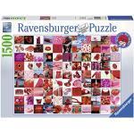 Ravensburger Puzzle Collage, 99 Belle Cose Rosse, Puzzle 1500 pezzi, Relax, Puzzles da Adulti, Dimensione: 80x60 cm, Stampa di alta qualità, Travel, Viaggi Puzzle, 1500 Pezzi