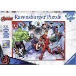 Ravensburger Puzzle Marvel Avengers 100 Pezzi Xxl 49x36 Cm 6+