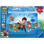 Ravensburger Puzzle Paw Patrol A Puzzle 2 x 12 pz Puzzle per Bambini