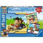 Ravensburger Puzzle Paw Patrol C Puzzle 3x49 pz Puzzle per Bambini