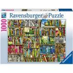 Ravensburger Puzzle, Puzzle 1000 Pezzi, La Libreria Bizzarra di Colin Thompson, Jigsaw Puzzle per Adulti, Puzzle Ravensburger - Stampa di Alta Qualità