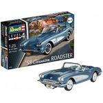 REVELL 07037 58' Corvette Roadster Scala: 1:25