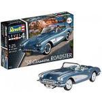 REVELL 07037 58' Corvette Roadster Scala: 1:25